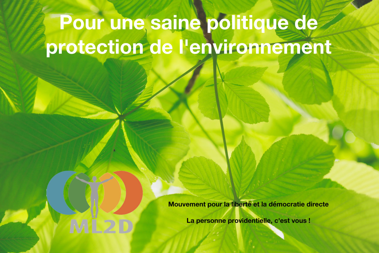 pour une saine politique de protection de l'environnement
